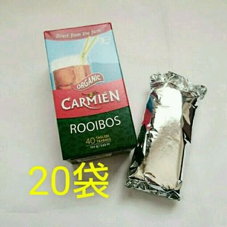未開封★20袋 50g オーガニック 有機ルイボス茶 コストコ (茶)