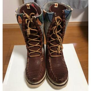 ヴィスヴィム(VISVIM)の新品 VISVIM Lhoka Folk Boots BURGUNDY(ブーツ)