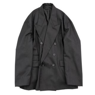 COMOLI - stein 21ss オーバーサイズドダブルブレステッドピークドジャケット