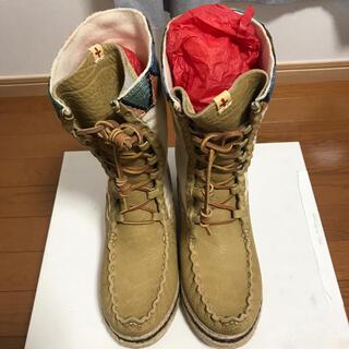 ヴィスヴィム(VISVIM)の新品 VISVIM Lhoka Folk Boots SAND BEIGE(ブーツ)