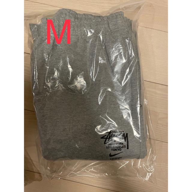 NIKE(ナイキ)の【Mサイズ】ナイキ ステューシー スウェット パンツ メンズのトップス(スウェット)の商品写真