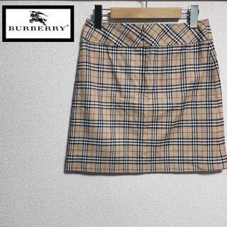 BURBERRY BLUE LABEL - BURBERRY 台形スカート