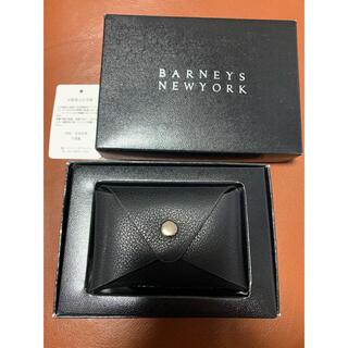 バーニーズニューヨーク(BARNEYS NEW YORK)の新品未使用 バーニーズニューヨーク カードケース(名刺入れ/定期入れ)