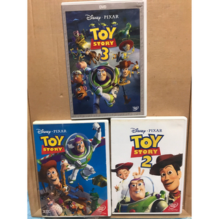 トイ・ストーリー - 即発送!ディズニー トイストーリー1 トイストーリー2 トイストーリー3 DVD