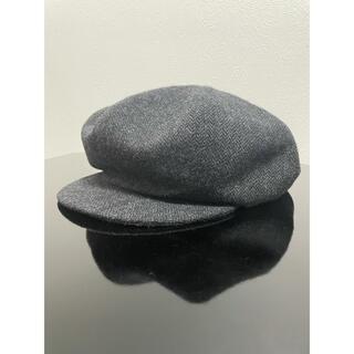 Rhythmor ヘリンボーンキャスケット 帽子(キャスケット)