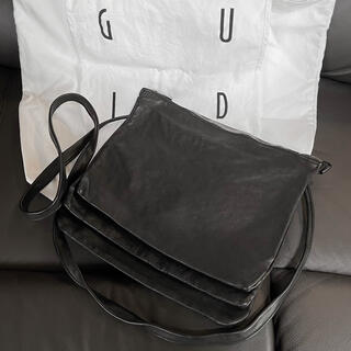 GUIDI - GUIDI LEATHER 3 POCETS LARGE バッグ 定価13万