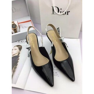 Dior - 大人気 値下げ美品Dior ディオール パンプス