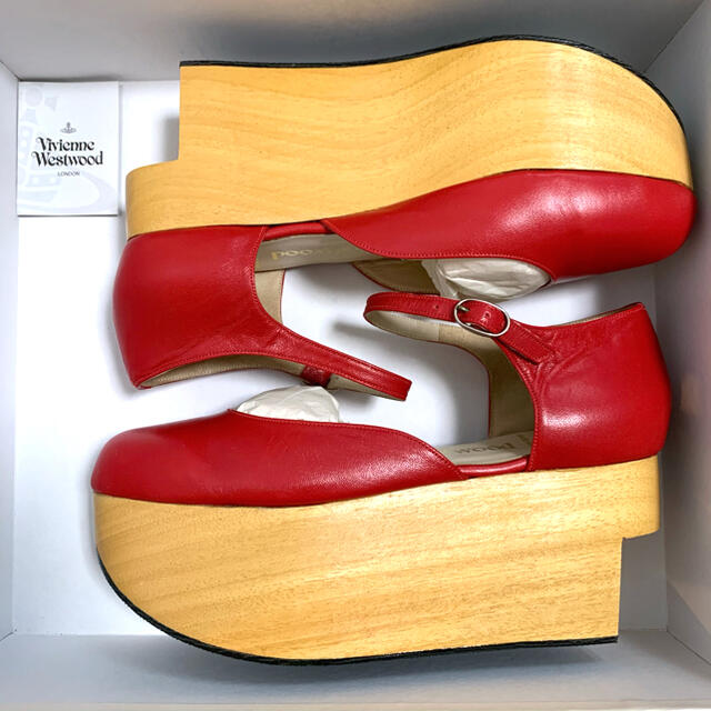 Vivienne Westwood(ヴィヴィアンウエストウッド)のVivienneWestwood ロッキンホース ベイビー 美品 稀少 レア レディースの靴/シューズ(ローファー/革靴)の商品写真