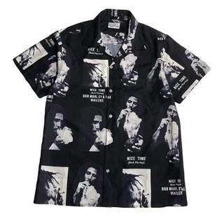WACKO MARIA - 新品 WACKOMARIA x BOB MARLEYシャツ S