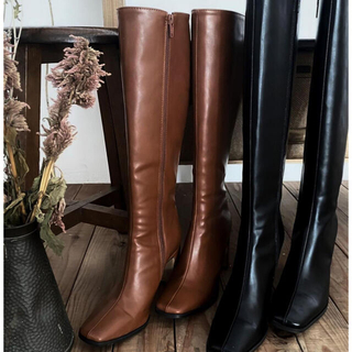 ALEXIA STAM - MARQUE  ブーツ Eco Lether Long Boots