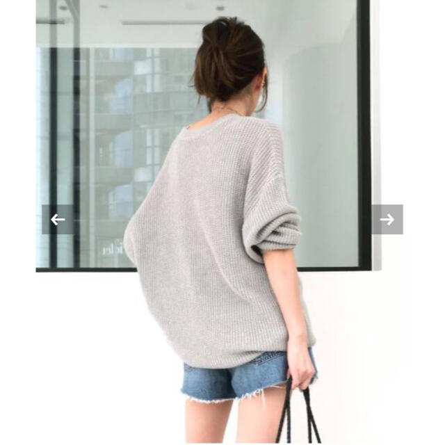 L'Appartement DEUXIEME CLASSE(アパルトモンドゥーズィエムクラス)のL'Appartement Linen Boys Knit レディースのトップス(ニット/セーター)の商品写真