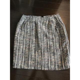 SHIPS - ツイードスカート タイトスカート