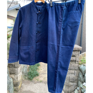 OKURA - BlueBlueJapan  サシコセットアップ /ジャケット&パンツ