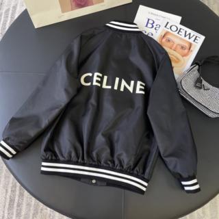 celine - 【CELINE】ナイロンテディブルゾン ブラック