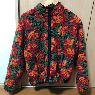 Supreme - Supreme Rose Reversible Fleece Jacket