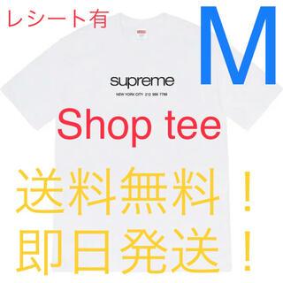 Supreme - supreme  20SS shop tee 白 M