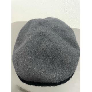 エモダ(EMODA)のEMODA ベレー帽 ブラック(ハンチング/ベレー帽)