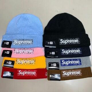 Supreme - Supreme x New Era Box Logo Beanie