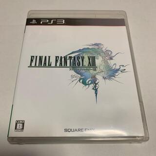 プレイステーション3(PlayStation3)のPS3 ソフト:ファイナルファンタジー13(家庭用ゲームソフト)