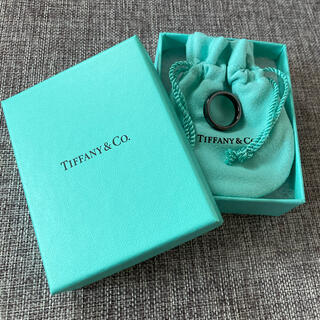 Tiffany & Co. - ★格安★Tiffany ティファニー リング ブラックチタン