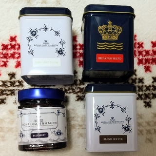 ロイヤルコペンハーゲン(ROYAL COPENHAGEN)のロイヤルコペンハーゲン☕4点セット(茶)