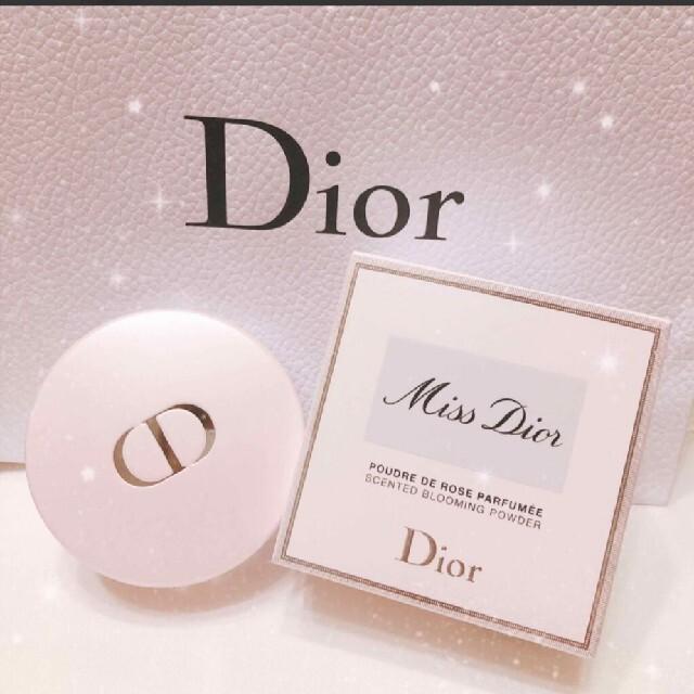 Christian Dior(クリスチャンディオール)の今月迄♡【美品 限定品】ミス ディオール ブルーミング ボディ パウダー コスメ/美容のボディケア(ボディパウダー)の商品写真