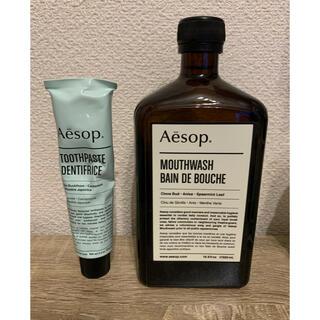 イソップ(Aesop)のAesop マウスウォッシュ&歯磨き粉(マウスウォッシュ/スプレー)