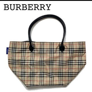 BURBERRY - Burberry バーバリー トートバッグ ナイロン ハンドバッグ 大きめサイズ