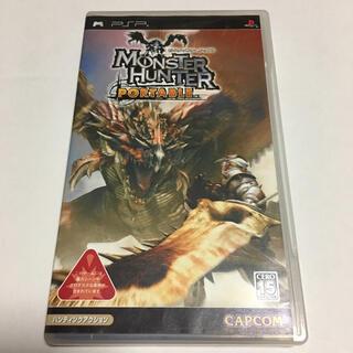プレイステーションポータブル(PlayStation Portable)のモンスターハンターポータブル PSPソフト(携帯用ゲームソフト)