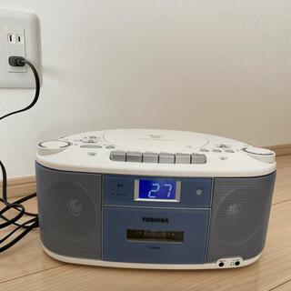 トウシバ(東芝)の東芝CDラジカセ TY-CDS5(ラジオ)