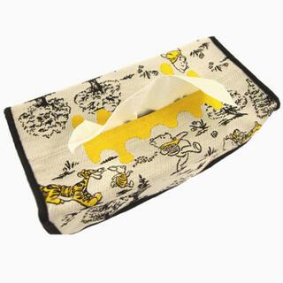 クマノプーサン(くまのプーさん)のくまの くまのプーさん ティッシュボックス ケース カバー ディズニー (ティッシュボックス)