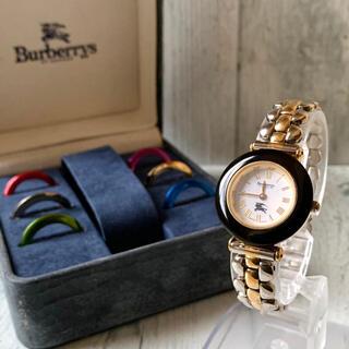 BURBERRY - 【電池交換済】Burberrys バーバリー 腕時計 チェンジベゼル 9100L