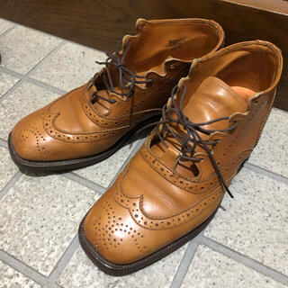 トリッカーズ(Trickers)のTricker's スクエアトゥ ギリーブーツ(ローファー/革靴)