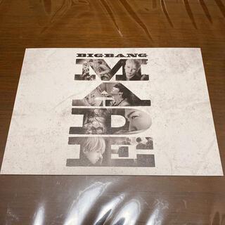 ビッグバン(BIGBANG)のBIGBANG MADE パンフレット(アート/エンタメ)