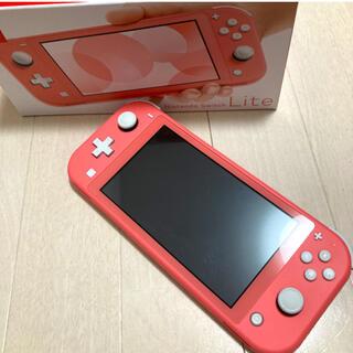 Nintendo Switch - Nintendo Switch LITE コーラル スイッチライト