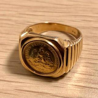 リング 指輪 金貨 K18