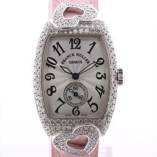 フランクミュラー(FRANCK MULLER)のフランクミュラー トノーカーベックス 750×革   レディース 腕時計(腕時計)