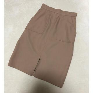 Apuweiser-riche - 美品*アプワイザーリッシェ*ベルト付きペンシルタイトスカート