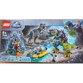 Lego - レゴ ジュラシック・ワールド T-レックス vs. メカきょうりゅう 75938