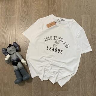 miumiu - tシャツ ミュウミュウ レディース