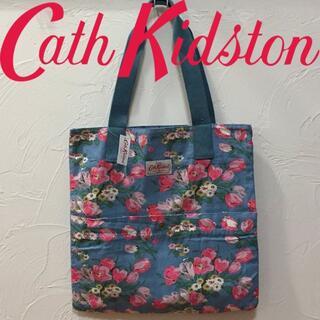 Cath Kidston - 新品 キャスキッドソン ウオッシュドトート チューリップペトロール