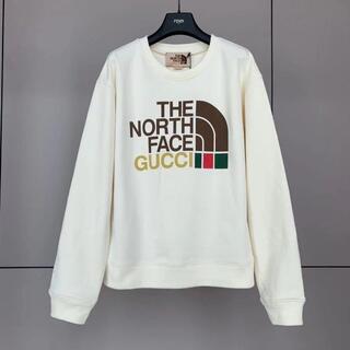 Gucci - 【GUCCI】THE NORTH FACE x GUCCI コットンスウェットシ