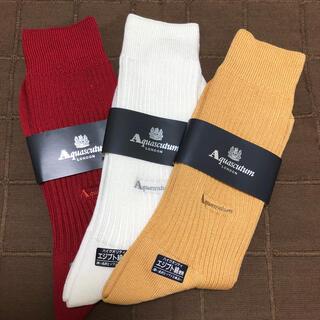 アクアスキュータム(AQUA SCUTUM)の紳士靴下(アクアスキュータム)(靴下/タイツ)