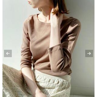 IENA - イエナ AURALEE*IENA 別注ボートネックTシャツ