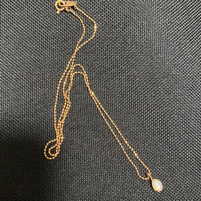 ete(エテ)のオパール ネックレス K10 レディースのアクセサリー(ネックレス)の商品写真