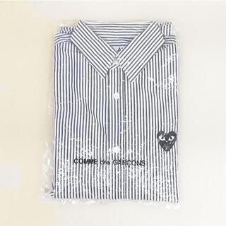 COMME des GARCONS - PLAY COMME des GARCONSのストライプシャツ 未使用品です。
