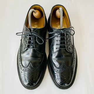 REGAL - REGAL リーガル 革靴 ウイングチップ 黒 24cm 除菌・消臭済み