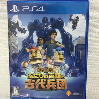 PlayStation4 - KNACK ふたりの英雄と古代兵団 PS4