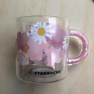 Starbucks Coffee - スターバックス 耐熱グラスマグ さくら  2021  マグカップ