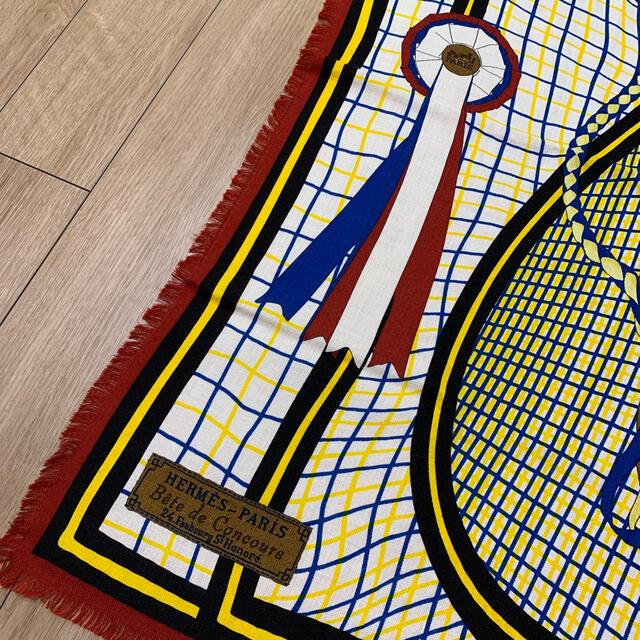 Hermes(エルメス)のエルメス カレ カシミアシルク カシシル スカーフ 90 レディースのファッション小物(バンダナ/スカーフ)の商品写真